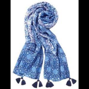 Stella & Dot - Capri Wrap - Blue/Lilac